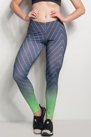 Legging Sublimada PRO (Traços com Neon) | Ref: NTSP21