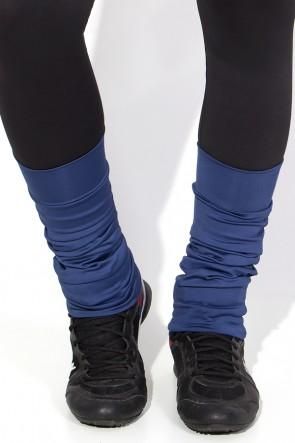 Polaina Fitness Lisa (O Par) (Azul Marinho) | Ref: KS-F182-002