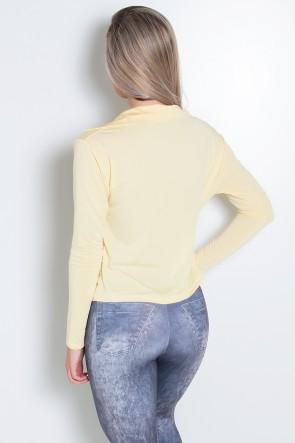 Casaco Raica (Amarelo Claro) | Ref:F543-006