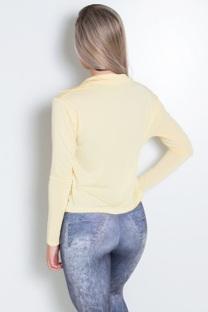 Casaco Raica (Amarelo Claro) | Ref: KS-F543-006