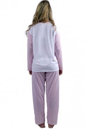 Pijama Quadriculado Feminino 120| Ref: P14