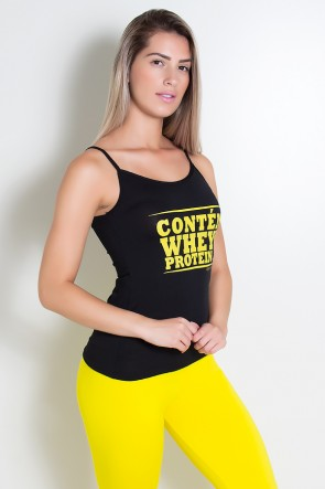 Camiseta Dry Fit July (Contém Whey Protein) | Ref: KS-F301