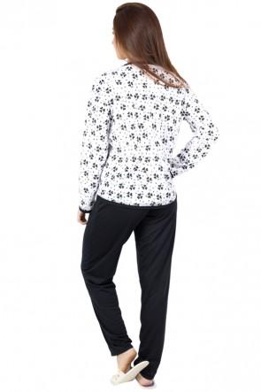 Pijama Comprido Estampado | Ref: P15
