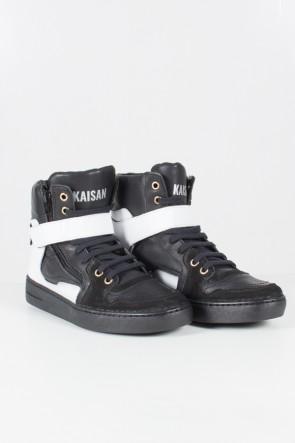 Sneaker Unissex Preto com branco | Ref: T34