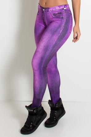 Legging Sublimada PRO (Stone Purple) | Ref: NTSP25-001