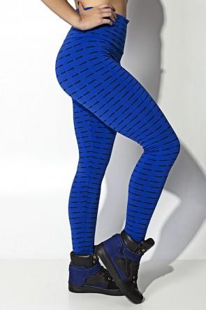 Calça Legging Mini Mesh (Azul Royal) | Ref: KS-F115-007