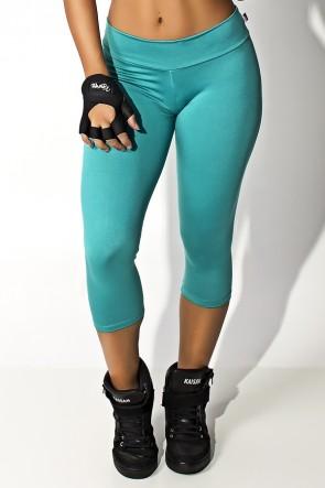 Calça Corsário Suplex (Verde Esmeralda)