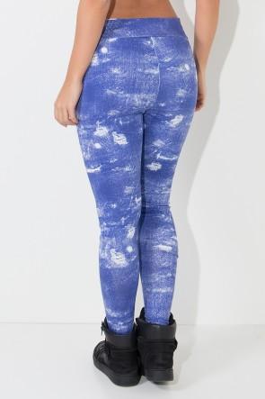 Calça Saruel Jeans Suplex | Ref: KS-F1911-001