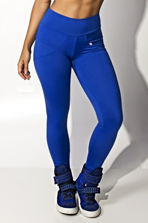 Calça Legging Levanta Bumbum (Azul Royal) | Ref: KS-F432-004