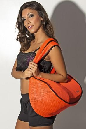 Bolsa Fitness Laranja Fluor | Ref: KS-F781-003