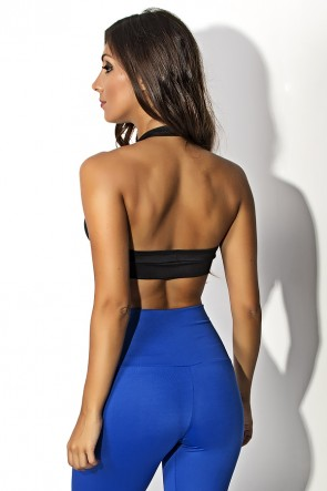 Top  (Preto / Azul Royal) | Ref: KS-F20-006