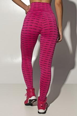 Calça Legging Mini Mesh (Rosa Pink) | Ref: KS-F115-003