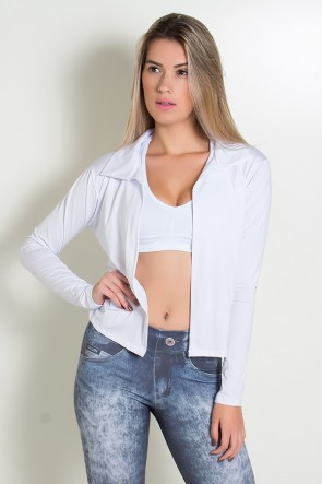 Casaco Raica (Branco) | Ref: KS-F543-003