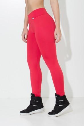 Calça Amanda com Cós em V (Vermelho) | Ref:F712-007