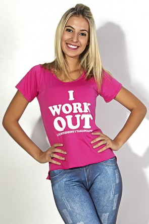 Camisa Paloma microlight (I Work Out) | Ref: F430