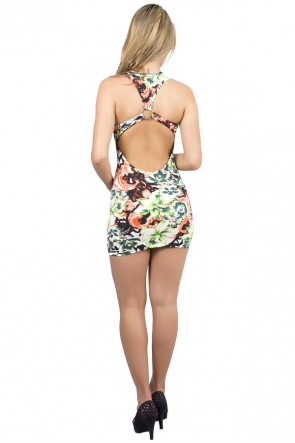 Vestido Estampado Raissa | Ref: R57