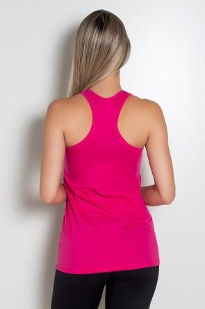 Sobre Legging Renata De Malha Nadador ( Contém Whey Protein ) (Rosa Pink) | Ref: KS-R68-003