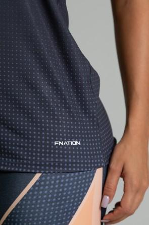 Regata Fitness Estampa Digital Coral Brand | Ref: GO344
