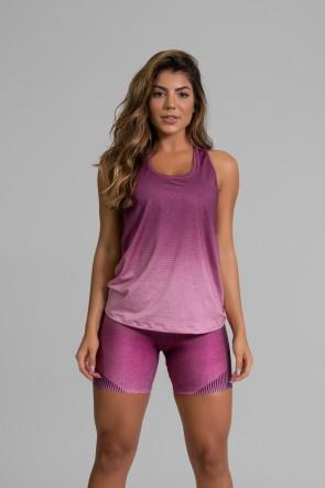 Regata Fitness Estampa Digital Fashion Rose | Ref: GO336