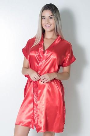 Robe 017 (Vermelho) | Ref: CEZ-PA017-00