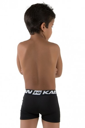 Kit com 3 Cuecas Boxer Silkada Infantil (498)    Ref: CEZ-CF498-001