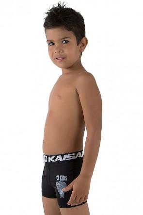 Kit com 3 Cuecas Boxer Silkada Infantil (498)  | Ref: CEZ-CF498-001
