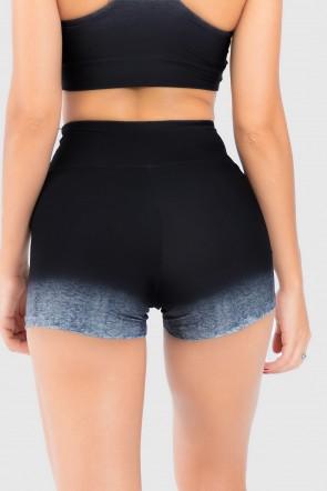 Short Fitness Estampa Digital Gray Gradient | Ref: GO175