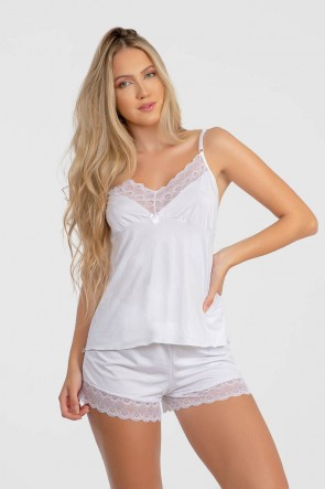 Short Doll Paula (Branco) | Ref: P02-2-A