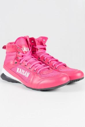 Tênis Cano Médio Unissex (Rosa Pink) | Ref: T22