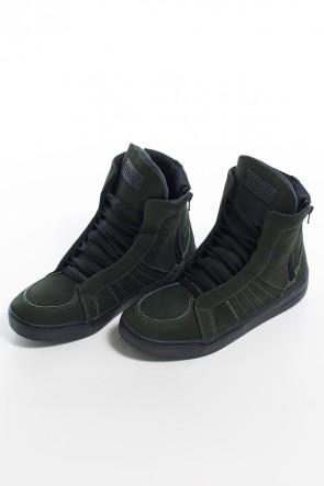 Sneaker Nobuck com Fecho (Verde Escuro) | Ref: KS-T53-003