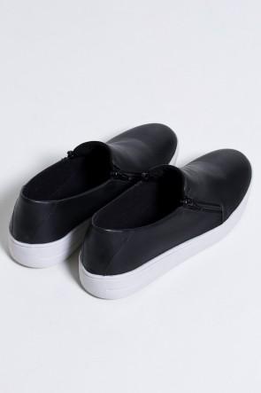 Tênis Slipper Confort (Preto / Branco) 788-01 | Ref: KS-T80-001