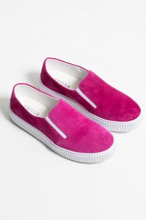 Tênis Slipper Camurça (Rosa Pink) 786-05 | Ref: KS-T84-001