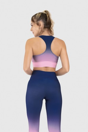 Top Nadador Fitness Estampa Digital Blue Hour | Ref: GO249