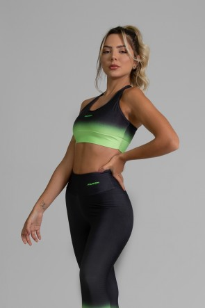 Top Nadador Fitness com Viés Estampa Digital Neon Transition | Ref: GO393