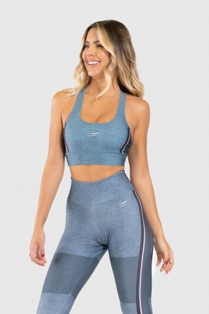 Top Nadador Fitness Estampa Digital Crossing Colors | Ref: GO319