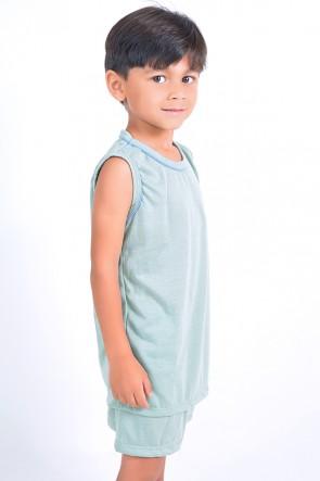 Pijama infantil mas. Regata 142 (Verde)