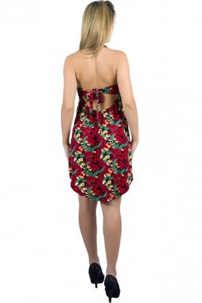 Vestido Frente Única Estampado | Ref: R60