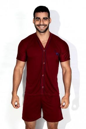 Pijama Mas. de Botão 168