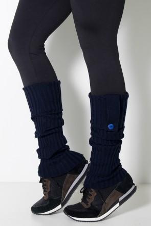 Polaina de Lã - (Azul Marinho) | Ref: WES001-003