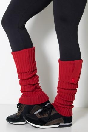 Polaina de Lã - (Vermelho) | Ref: WES001-009