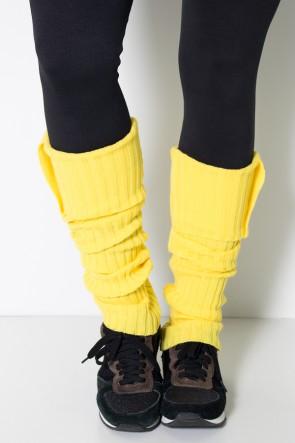 Polaina de Lã (Amarelo) | Ref: WES001-016