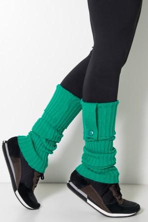 Polaina de Lã - (Verde Bandeira) | Ref: WES001-048