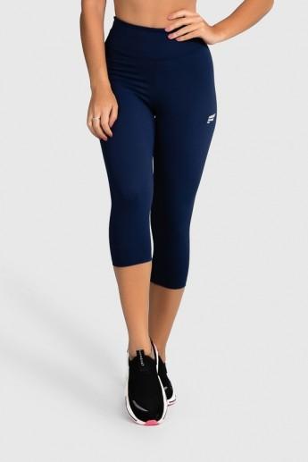 Calça Corsário Fitness Básica (Azul Marinho) | Ref: GO2-H