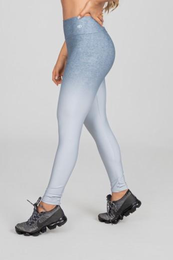 Calça Legging Estampa Digital com Cós Duplo (Silver Blend)   Ref: K2973-A
