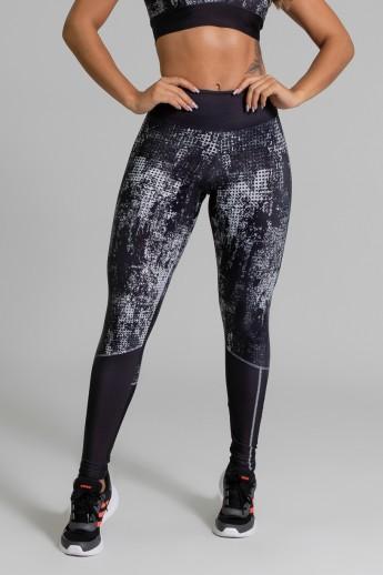 Calça Legging Fitness Estampa Digital Doom | Ref: GO386
