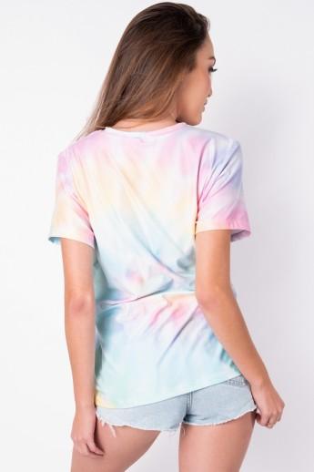 Camisetão Tie Dye (Arco-Íris Claro) | Ref: K2696-C