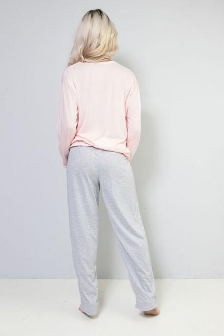Pijama Longo 245 (Rosa) CEZ-PA245-002