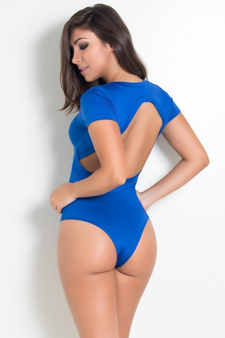 Body Liso Suzana (Azul Royal) | Ref:F242-003