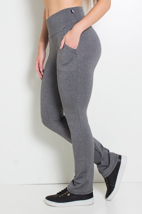 Calça Legging Bailarina Isabel (Mescla) | Ref: KS-F168-001