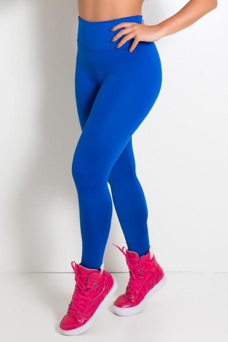 Legging Cós Alto Azul Royal | Ref: KS-F23-006
